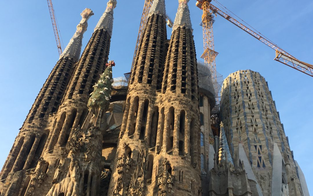 Sagrada Familia, work in progress